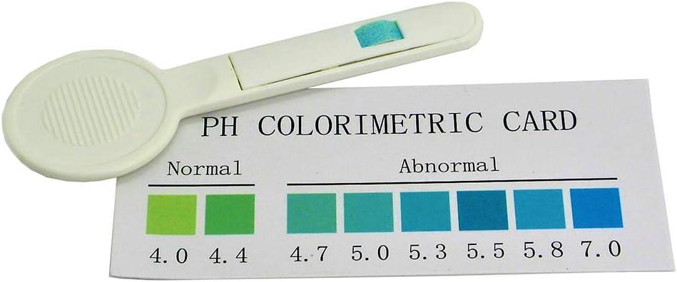 3 x Prueba rápida de pH para detección de vaginosis bacteriana (BV) - Test de análisis para detección de infección vaginal