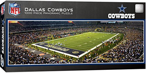 MasterPieces NFL Dallas Cowboys 1000 Piece Stadium Panoramic Jigsaw Puzzle ()