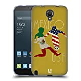 Head Case Designs Mexico Vs Usa Football Rivalries Soft Gel Case for Alcatel Hero 2