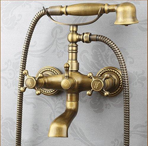 KaO0YaN-Shower Ducha Europeo Todo Cobre Antiguo Juego De Ducha ...