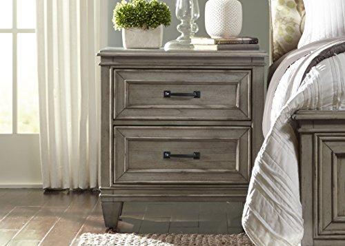 Liberty Furniture Grayton Grove Bedroom 2-Drawer Night Stand, Driftwood ()
