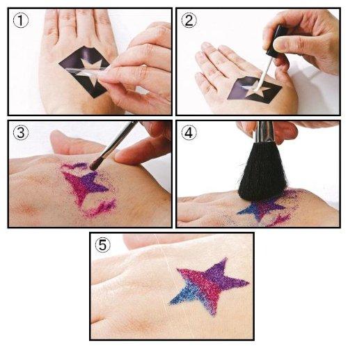 Glitter Tattoo Kits (Spooky) by Glimmer Body Art (Image #4)