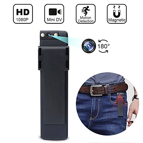 Mini Spy Camera,Hidden Camera,PINBJY 1080P Portable Mini Security Camera Nanny Cam with/Motion Detection/900mAh Battery for Home and Office,Indoor/Outdoor Use
