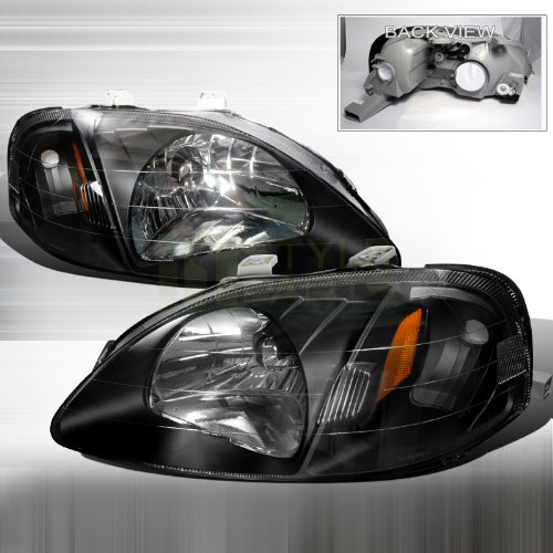 00 civic headlight assembly oem - 5