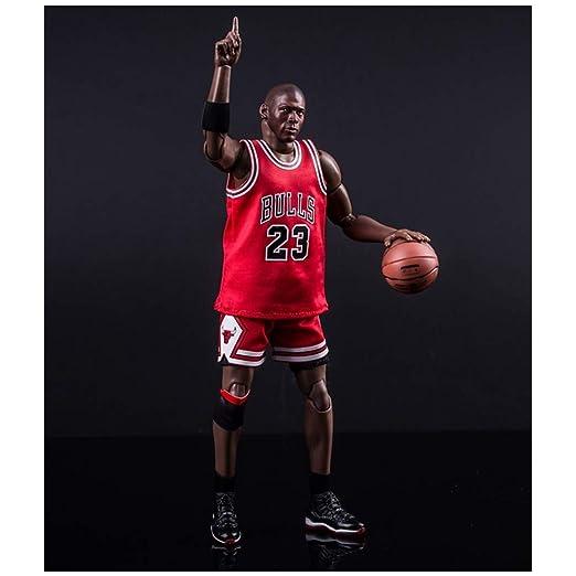 LIN-DOLLS Jordan 23 Rojo Animado 3D Modelo de Juguete Modelo ...