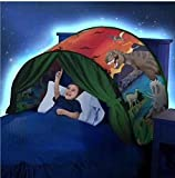 Solvang Foldable Baby Kids Pop Up Bed Play Tent Playhouse Best Gifts for Children (Dinosaur)
