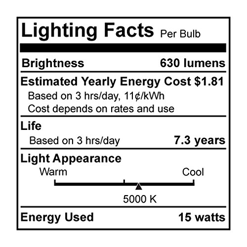 Bulbrite CF15PAR30SD Compact Fluorescent PAR30, Soft Daylight