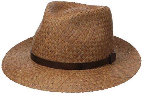 Hats Kangol Fedora (Kangol Men's Belt Hiro Trilby, Tan, M)