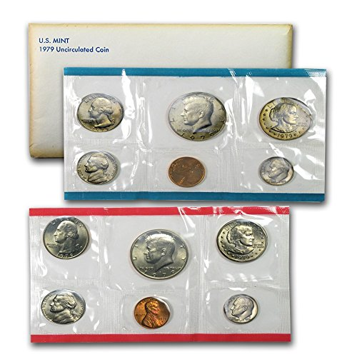 (1979 US 12 Piece Mint Set in original packaging from US mint Uncirculated)