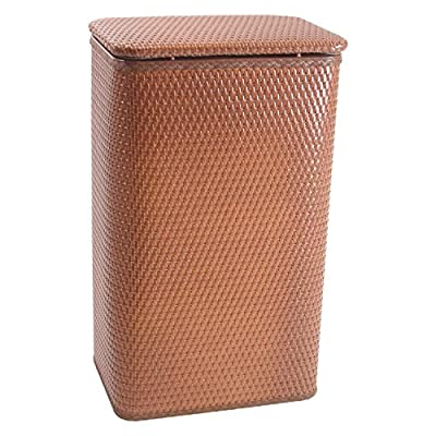 Redmon Chelsea Collection Apartment Hamper 126NM - Chelsea Collection Apartment Hamper - Nutmeg Hand crafted for quality, durability, and reliability, made in USA Decorator style - laundry-room, hampers-baskets, entryway-laundry-room - 51n55aybNaL. SS400  -