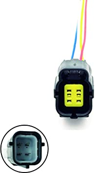 amazon.com: oxygen sensor o2 connector 4 wiring harness pigtail plug  replacement for nissan micra march note e11 tiida qashqai nv200 05-14:  automotive  amazon.com