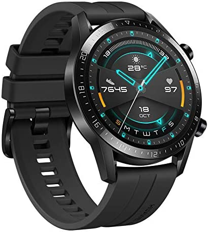 Huawei Watch Gt 2 - Reloj Inteligente, 46Mm, 3D Glass Screen, Bluetooth, Negro 4