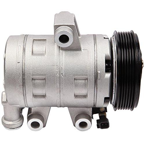 ECCPP Compatible fit for A/C Compressor Clutch CO 21516JC for 2006-2009 Chevrolet Equinox Pontiac Torrent 3.4L Car Air AC Compressors