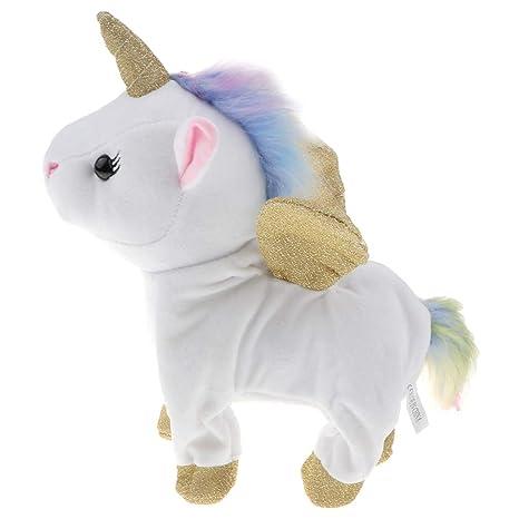 Sharplace Juguete de Animales de Peluche Modelo de Unicornio ...