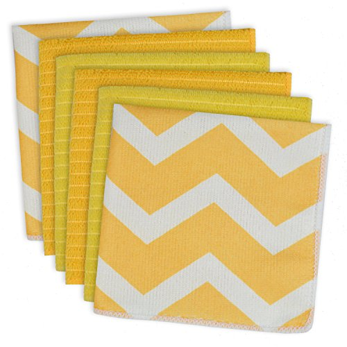 yellow dish cloth - 8