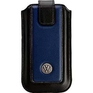 Volkswagen DUAL CASE M Leather Black/Night Blue