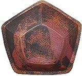 Copper Foot Nail Wash Soaker Pedicure Spa Pentagon Shape Bowl Tub Manual Massage by Egypt gift shops