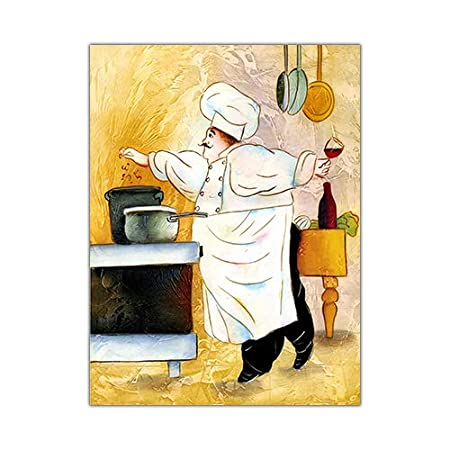 REDWPQ Dibujos Animados Anime Restaurante Pintura Panadería ...