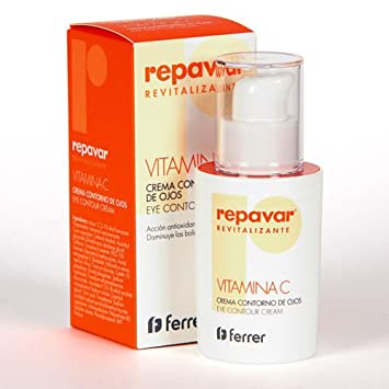 Amazon.com: REPAVAR EYE CONTOUR VITAMIN C CREAM 15ml: Beauty