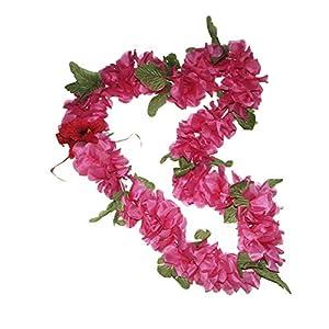 Hawaii Artificial Flower Full Leis Hawaiian Aloha lei 14