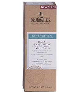 Dr. Miracles Strengthen Daily Moisturizing Gro Oil 4oz (2 Pack)