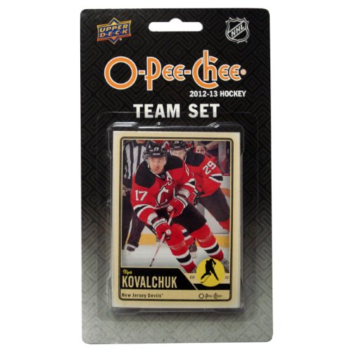 NHL New Jersey Devils 2012/13 Upper Deck O-Pee-Chee Team Card Set (17 Cards)