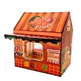 Kids Portable Folding Cartoon Play Houses Prince or Princess Castle Toys Tents Childs Room Playsets For Indoor Outdoor Use By Hi Suyi