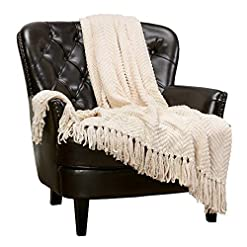 Bedroom Chanasya Textured Knitted Super Soft Throw Blanket with Tassels Cozy Plush Lightweight Fluffy Woven Blanket for Bed Sofa… pergolas