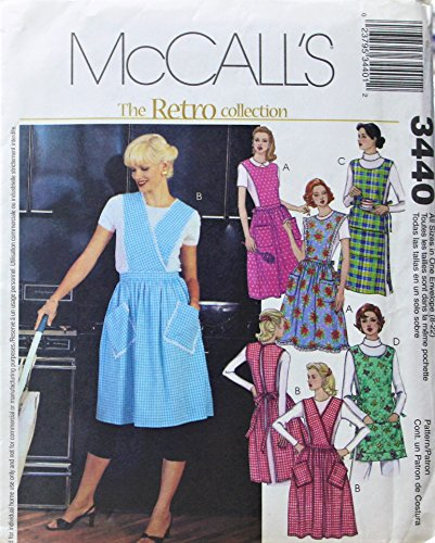 Misses Retro Apron Collection Pattern - McCall's # (Mccall Apron)