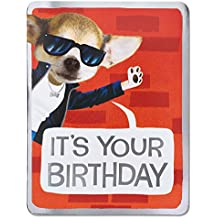 American Greetings Right Notes Birthday Card with Foil