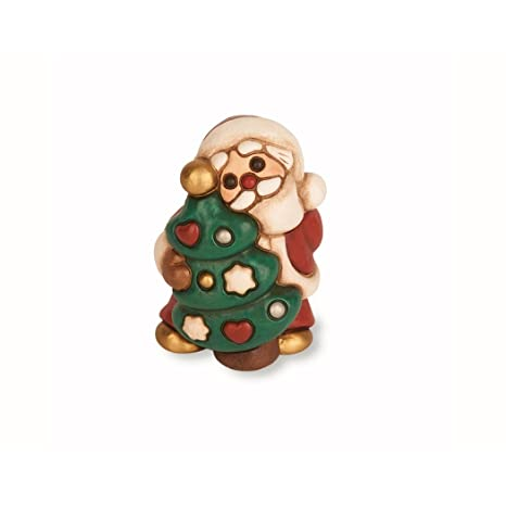 THUN Babbo Natale con Abete Art F2157 Novita 2014: Amazon.it: Casa e ...