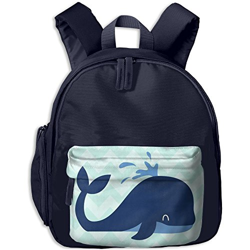 Dolphin Baby Lightweight Backpack School Bag Travel Lunch Bags For School Opening With Side Pockets