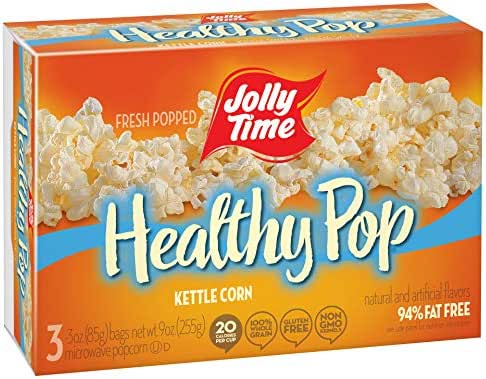 Microwave Popcorn: Jolly Time Healthy Pop