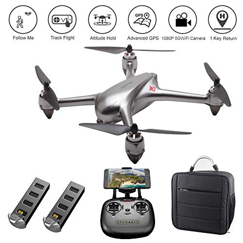 LOHOME MJX Bugs B2SE RC Quadcopter – 2.4GHz 6-Axis Gyro 1080P HD 5G WiFi Camera FPV Remote Control Drone, Long Range Drone with GPS, Altitude Hold, Headless Mode, Return to Home, 2 Battery 1 Backpack Review