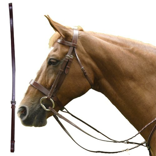 Standing Martingale Attachment (Exselle Elite Standing Martingale Plain Flat Leather Attachment, Full)