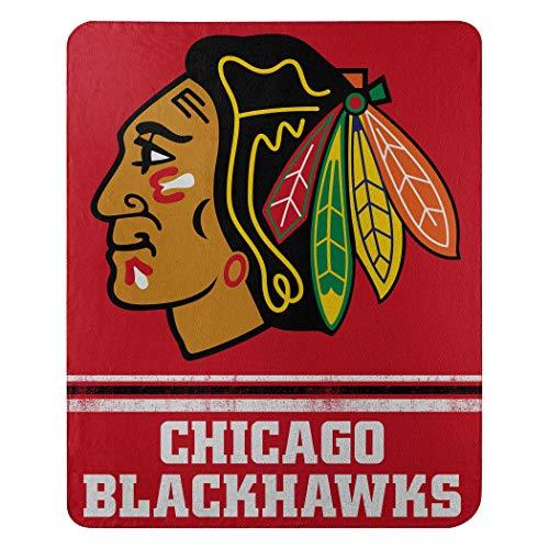 The Northwest Company NHL Fade Away Fleece Throw Blanket ()