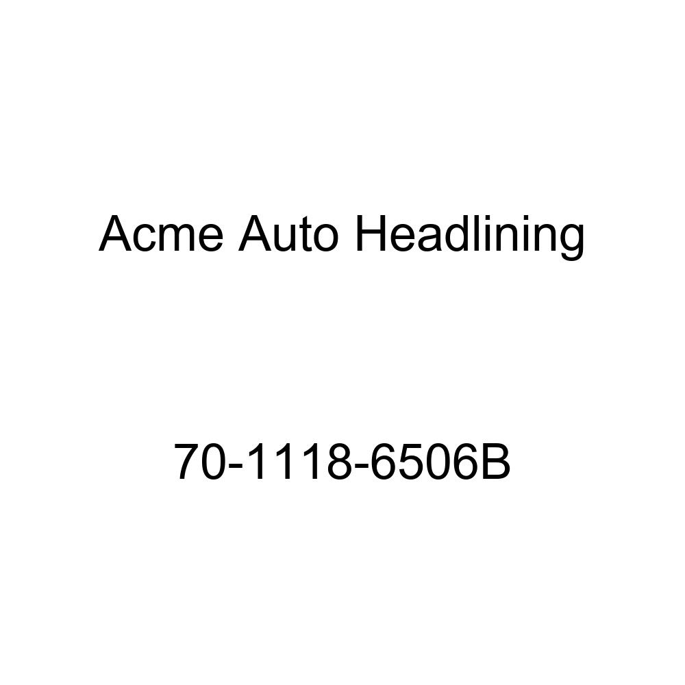 Acme Auto Headlining 70-1118-6506B Aqua Replacement Headliner 8 Bow 1970 Buick Estate Wagon 4 Door Wagon