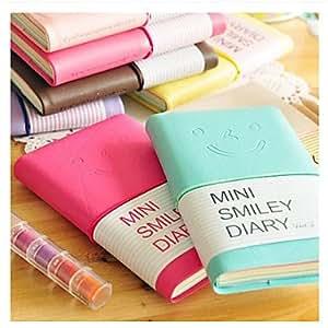 Klm mini cara de la sonrisa del cuaderno diario de colores for Oficinas de klm