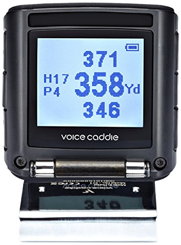 Voice Caddie D1 + Screen Golf GPS Rangefinder, Black by VOICE CADDIE