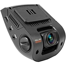 "Rexing V1 Car Dash Cam 2.4"" LCD FHD 1080p 170° Wide Angle Dashboard Camera Recorder with G-Sensor, WDR, Loop Recording"