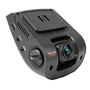 """Rexing V1 Car Dash Cam 2.4"""" LCD FHD 1080p 170 Degree Wide Angle Dashboard Camera Recorder with Sony Exmor Video Sensor, G-Sensor, WDR, Loop Recording"""