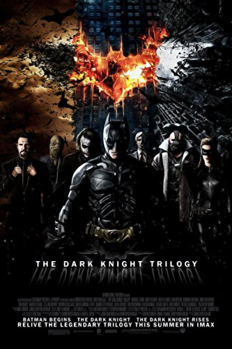 Dark Knight Bat Attack (MOUSE POSTER STAR P0271 BatMan The Dark Knight Trilogy canvas print photo 16x24 inch poster)