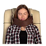 Zesleeper Napping Pillow - Healthy Neck and Head Support Pillow - Most Suitable for Traveler's Comfortable Sleep (Plane, Train, Car and Bus) - Perfect for Ergonomic Rest