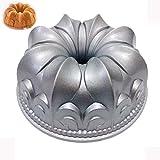 10 Inches Flower Bundt Cake Pan Nonstick Cake Molds Bakeware Cast Aluminum Cake Baking Tool