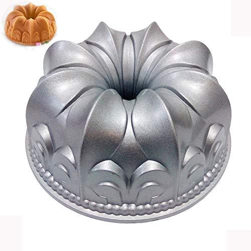 Flower Bundt Cake Pan 10 Inches Nonstick Cake Molds Bakeware Cast Aluminum Cake Baking Tool