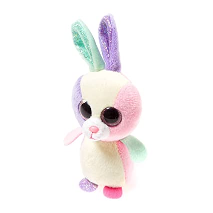 b4bab178a6e Image Unavailable. Image not available for. Color  Claire s Accessories Ty  Beanie Boos Bloom the Bunny ...