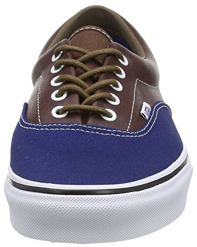 Potting Unisex Blue Leather Scarpe Vans Soil da Adulto Ginnastica Estate Basse Plaid Multicolore qPxfw6Ux