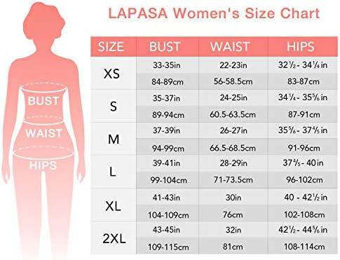 LAPASA Women's 100% Merino Wool Thermal Underwear Long John Set Base Layer Top and Bottom L58