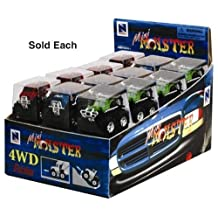 New Ray Toys Die Cast Mini Monster Truck(00547) by New Ray
