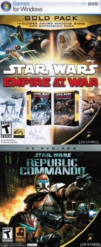 Star Wars: Empire At War Gold Pack + Star Wars: Republic Commando